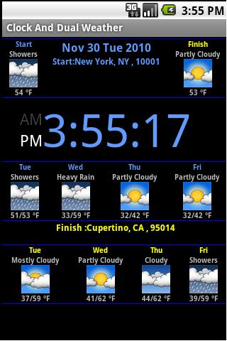 Clock Weather For PC Windows (7, 8, 10, 10X) & Mac Computer Image Number- 5