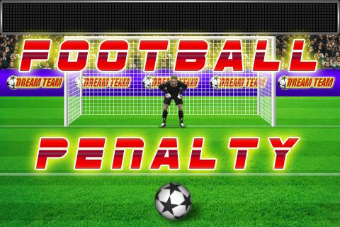 Football penalty. Shots on goal. 1.97 screenshots 1