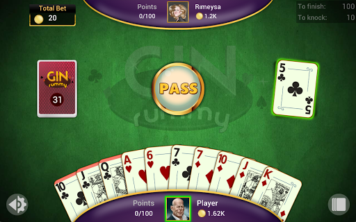 Gin Rummy - Offline Free Card Games 1.4.1 Screenshots 20