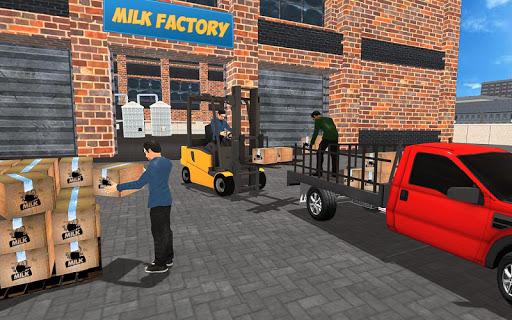 Cow farm milk factory farming dairy farm games  screenshots 12