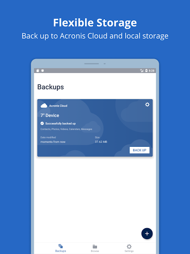 Acronis True Image: Mobile screenshots 6