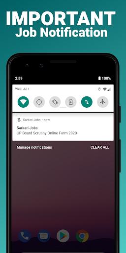 Sarkari Jobs App, Sarkari Result, Naukri App 2021 android2mod screenshots 4
