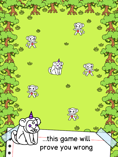 Monkey Evolution - Simian Missing Link Game android2mod screenshots 6