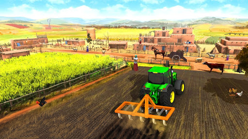 Farming Game 2021 - Free Tractor Driving Games screenshots 3