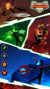 Idle Stickman Heroes: Monster Age
