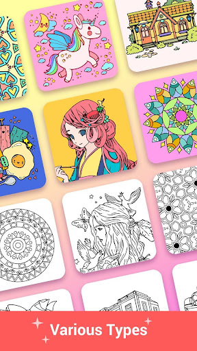 Paint Color - Paint color by number, coloring book 3.2 screenshots 3