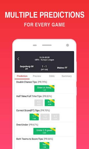 O Football - Betting Predictions & Tips 2.6 Screenshots 8