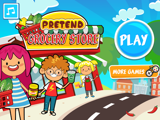 My Pretend Grocery Store - Supermarket Learning  screenshots 6