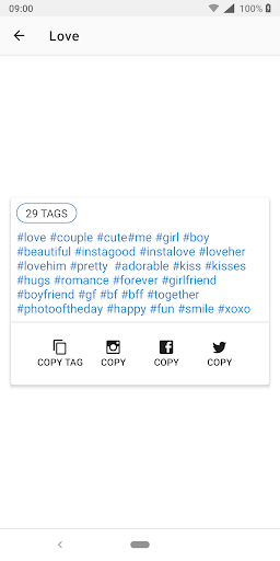 HashTags for Instagram 1.0.7.6 Screenshots 4