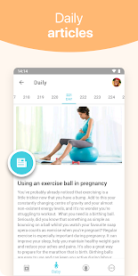 Pregnancy + | tracker app, week by week in 3D Screenshot