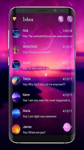 Wallpaper SMS theme 3.3.4 screenshots 1