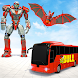 Bus Robot Car Transform War – Bat Robot Game