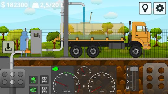 Mini Trucker MOD (Unlimited Money) 4