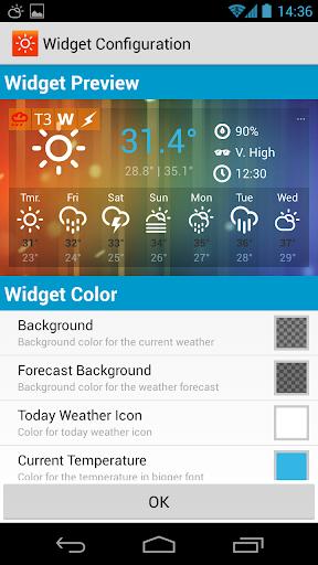 sunny hk -weather&clock widget screenshot 3