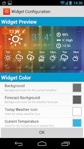 HK Sunny Pro Apk- Weather&Clock Widget (Paid Features Unlocked) 3