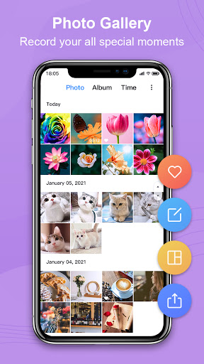 Photo Gallery, Picture Manager - Nuts Gallery  screenshots 1
