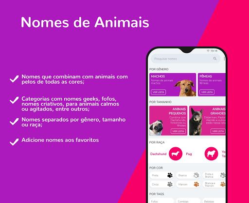 Nome de Animais