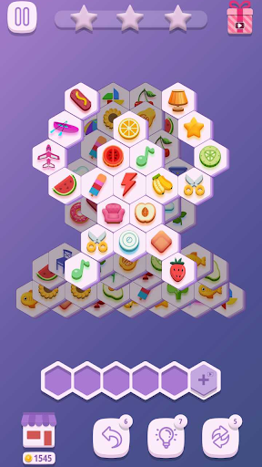 Tile Match Hexa 1.0.2 screenshots 2