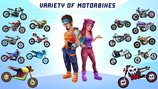 Bike Racing Multiplayer Games: Bike Stunt Games 4