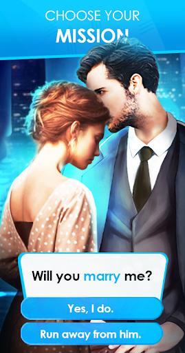 Code Triche Mysterious Lover: Interactive Romance Game (Otome) (Astuce) APK MOD screenshots 4