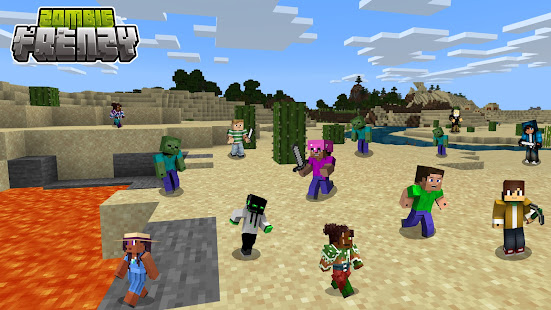 Zombie Craft Frenzy 1.0 APK + Mod (Free purchase) for Android