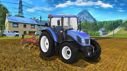 Real Farm Town Farming tractor Simulator Game 1.1.7 screenshots 2