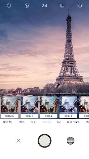 Retro Camera-Polo Image,Analog film,Paris,Pink android2mod screenshots 1