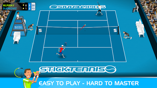 Stick Tennis MOD APK 2.9.3 (Unlocked Rackets) 1