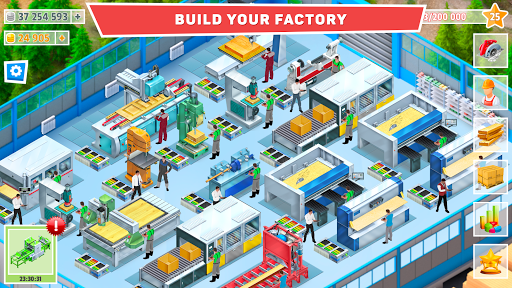 Timber Tycoon - Factory Management Strategy 1.1.1 screenshots 1
