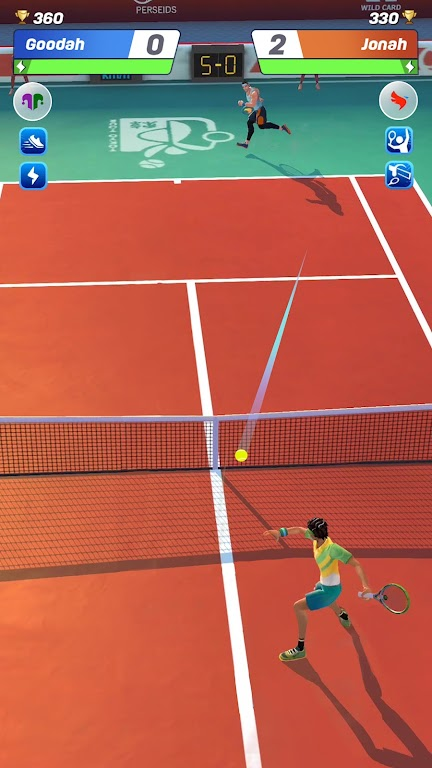 Tennis Clash: 1v1 Free Online Sports Game  poster 6
