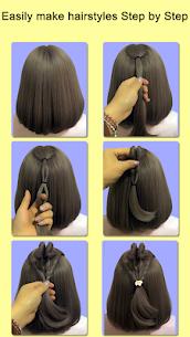 Hairstyles for short hair Girls 2