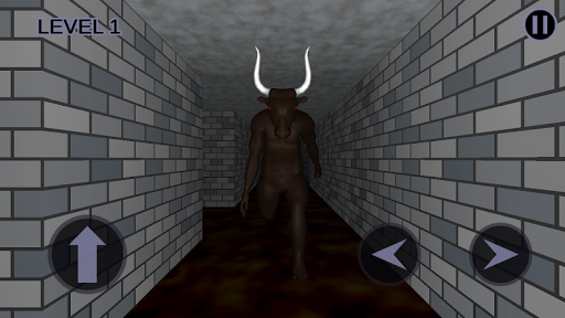 Minotaur's Lair - Scary Maze 3D, Hard Labyrinth apkpoly screenshots 3