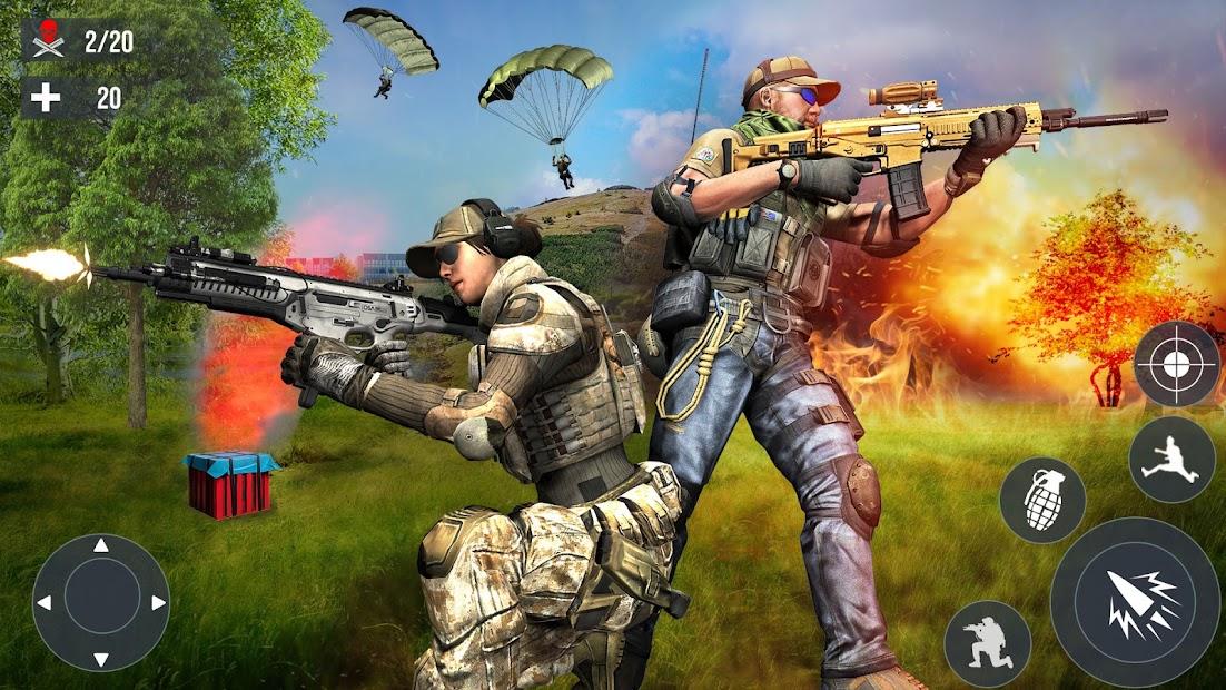fps ألعاب كوماندوز ضربة بندقية مجانية