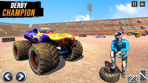 Real Monster Truck Demolition Derby Crash Stunts  Screenshots 4