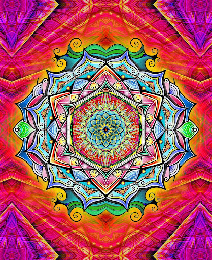 Mandala Coloring screenshots 1