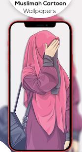 Hijab Muslimah Cartoon Wallpapers HD 1.1.10 screenshots 5