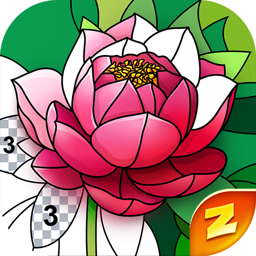 Magic Color by Number: Free Coloring game