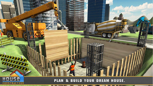 House Building Construction Games - House Design apkpoly screenshots 1