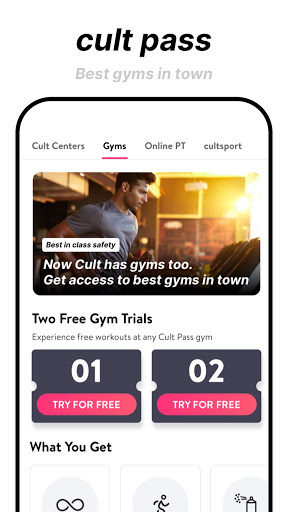 cure.fit Fitness, Meditation, Healthy food, Doctor 8.70 Screenshots 4