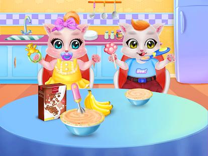 Kitty Care Twin Baby Game 1.2 screenshots 2