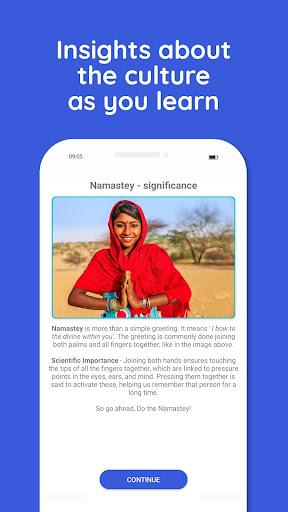 Learn Hindi, Sanskrit, Kannada, Tamil and more 4.0.5 screenshots 2