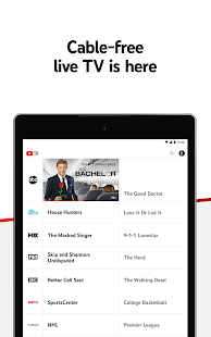 YouTube TV: Live TV & more screenshots 11