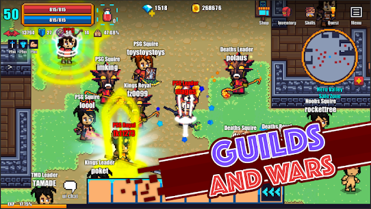 Pixel Knights Online 2D MMORPG MMO RPG 3