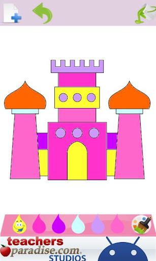Prince & Princess Coloring Book screenshots 4