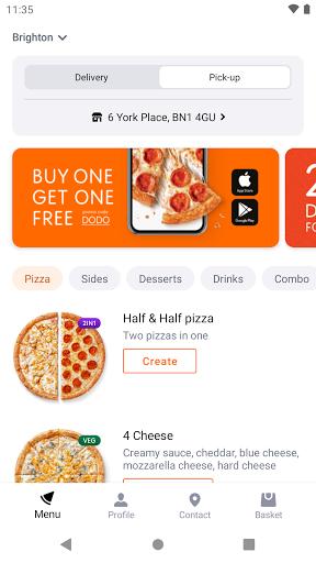 Dodo Pizza 8.2.1 Screenshots 1