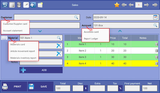 Business Accounting screenshots 1