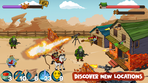 Zombies Ranch. Zombie shooting games screenshots 9