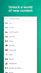 Fast Free VPN – Kaspersky Secure Connection Screenshot