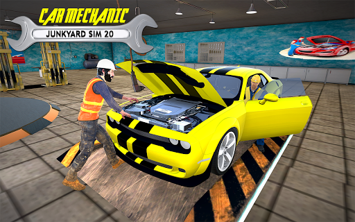Real Car Mechanic Workshop- Junkyard Auto Repair 1.0 screenshots 6