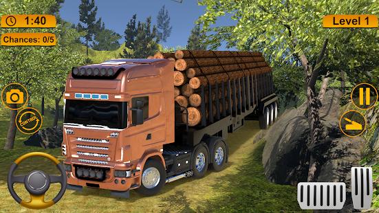 Off-road Cargo Truck Simulator 1.0 Screenshots 9